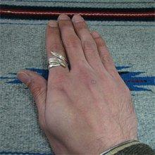 他の写真3: ナバホ族 Tee Mace イーグルフェザー 12KGF リング 17号