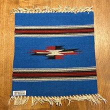 他の写真1: Ortega's チマヨ プレイスマット/ランチョマット 15×15 ロイヤルブルー